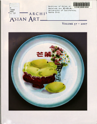 Archives of Asian Art Book