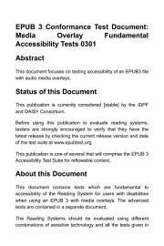Media Overlay Test Book  Flowing  PDF