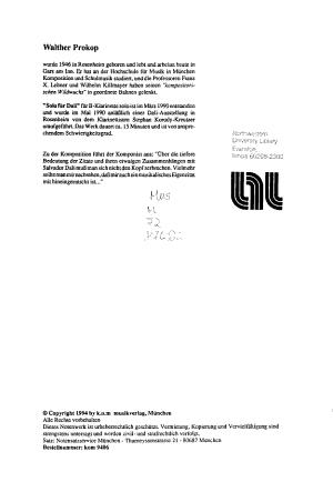 Solo f  r Dali PDF