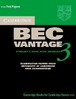 Cambridge BEC Vantage 3  Self Study Pack  Student s Book  Audio CD  PDF