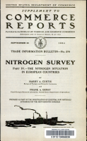 The nitrogen situation in European countries PDF