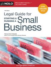 Legal Guide for Starting & Running a Small Business: Edition 14