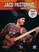 Jaco Pastorius    Modern Electric Bass  Book  DVD   Online Video PDF