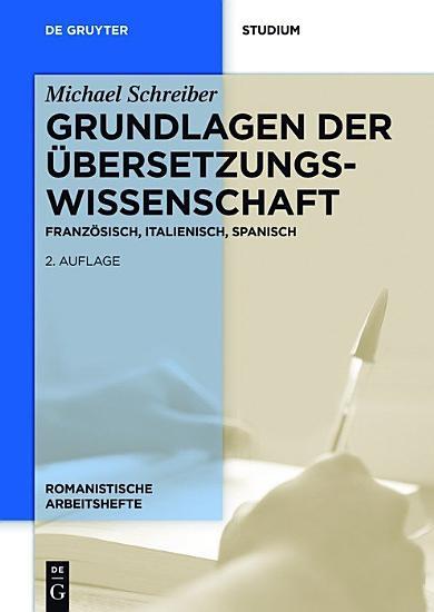 Grundlagen der   bersetzungswissenschaft PDF