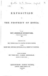 An Exposition Of The Prophecy Of Hosea Book PDF