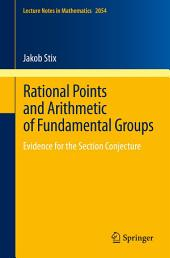 Rational Points and Arithmetic of Fundamental Groups: Evidence for the Section Conjecture