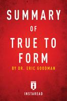 Summary of True to Form PDF