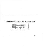 Transportation by water, 1916