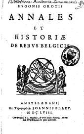Annales et historiae de rebus Belgicis
