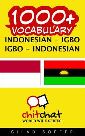1000+ Indonesian - Igbo Igbo - Indonesian Vocabulary
