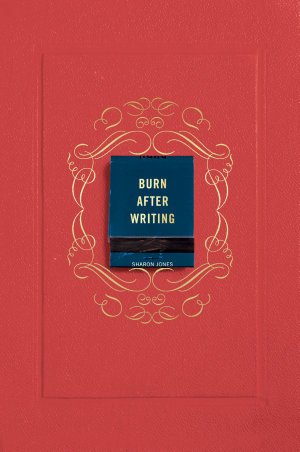 Burn After Writing  Coral