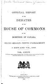 House of Commons Debates, Official Report (Hansard): Volume 3