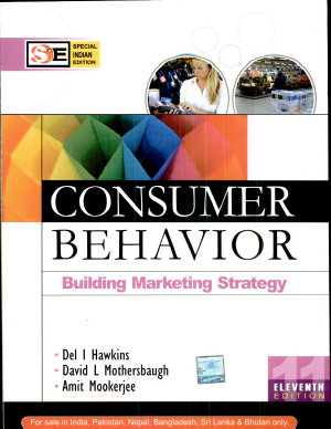 Consumer Behavior  11E  Sie  With Cd PDF