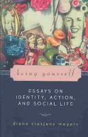 Being Yourself PDF