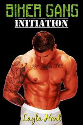 Biker Gang Initiation (gay motorcycle club erotica)