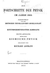Die Fortschritte der physik     PDF