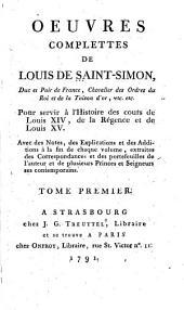 Mémoires d'état et militaires du règne de Louis XIV