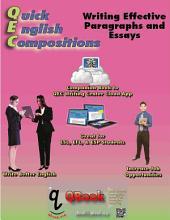 QEC 英文寫作: 編寫有效的句子和段落