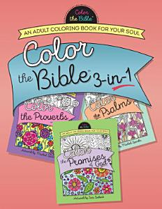 Color the Bible 3 in 1  Volume 2  Book