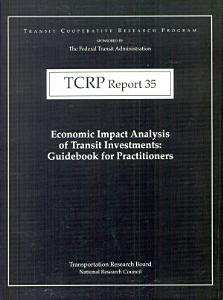 Economic Impact Analysis of Transit Investments PDF