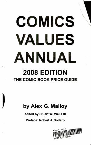 Comics Values Annual 2008