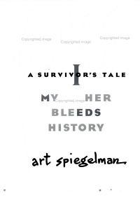 Maus   a Survivor s Tale  1 Book