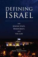 Defining Israel PDF