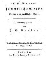 Sämmtliche Werke: Philosophische und kulturhistorische Werke ; Bd. 8, Aristipp ; Th. 2, Band 37