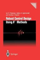 Robust Control Design Using H-∞ Methods