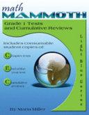 Math Mammoth Grade 1 Tests and Cumulative Reviews