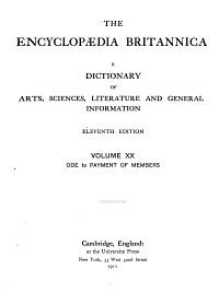 The Story of the Encyclopaedia Britannica  1768 1943 PDF