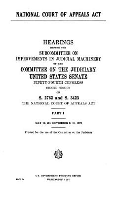 National Court of Appeals Act  May 19  20  November 9  10  1976