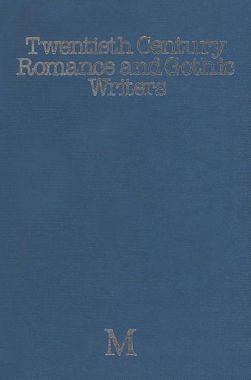 Twentieth Century Romance and Gothic Writers PDF