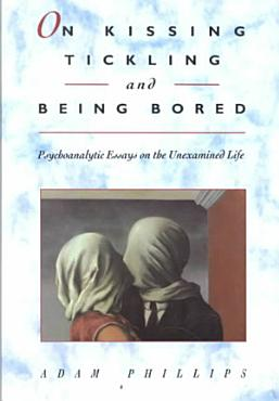 On Kissing  Tickling  and Being Bored PDF