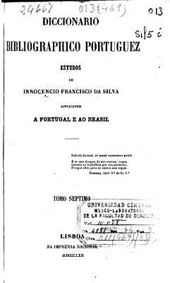 Diccionario bibliographico portuguez  P V  1862  463  73 110 p   PDF