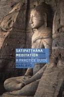 Satipatthana Meditation PDF
