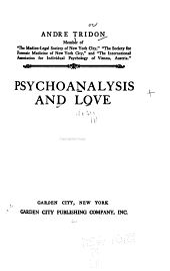 Psychoanalysis and Love