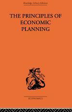 Principles of Economic Planning