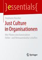 Just Culture in Organisationen PDF