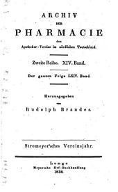 Archiv der Pharmazie und Berichte der Deutschen Pharmazeutischen Gesellschaft: Band 64