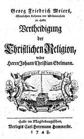 Vertheidigung der christlichen Religion