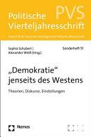 demokratie  Jenseits Des Westens PDF