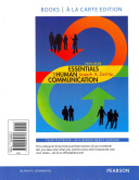 Essentials of Human Communication  Books a la Carte Plus New Mycommunicationlab with Etext    Access Card Package PDF