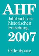 Berichtsjahr 2007