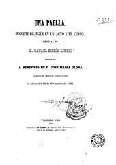 Una Paella: juguete bilingüe en un acto y en verso