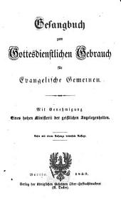 Gesangbuch zum gottesdienstlichen Gebrauch für evangelische Gemeinden