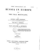 The Geology of Russia in Europe and the Ural Mountains: Volume 1