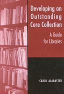 Developing an Outstanding Core Collection