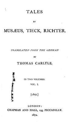 The Works of Thomas Carlyle  German romance PDF