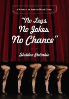 No Legs  No Jokes  No Chance  PDF